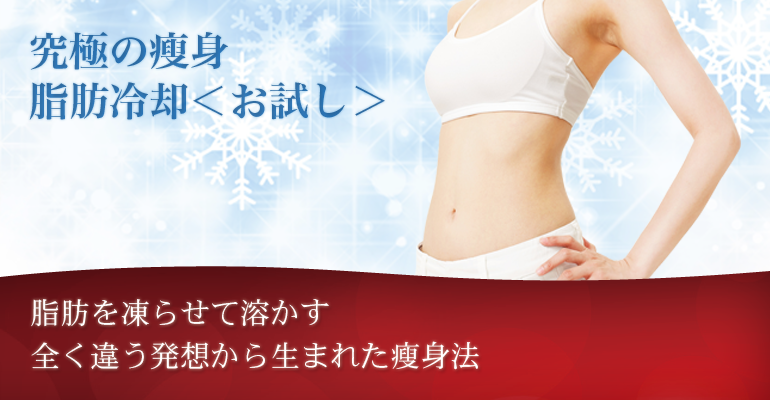 脂肪冷却ダイエット